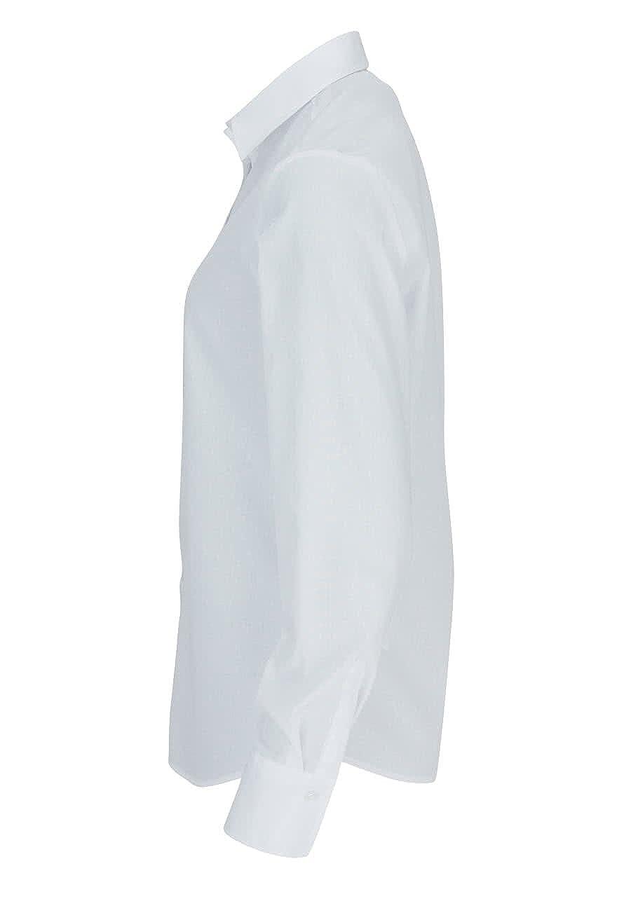 38-48 neu //6250.00.D380 eterna comfort fit Bluse weiß Gr