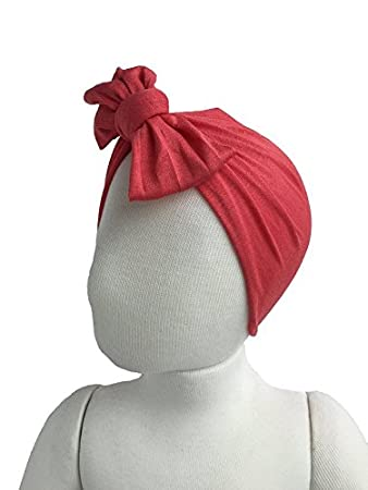 Baby Newborn Girl Turban Hat Headband Cotton Headwrap Beanie Several  Colors! (6-18 a33d6672ad6