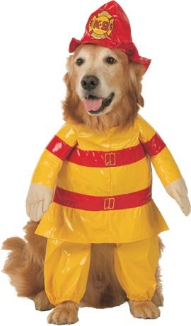 Pet Fireman Dog Costume For X-small Dogs
