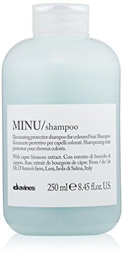 Davines Minu Shampoo, 8.45 fl.oz. (Best Drugstore Anti Frizz Serum)