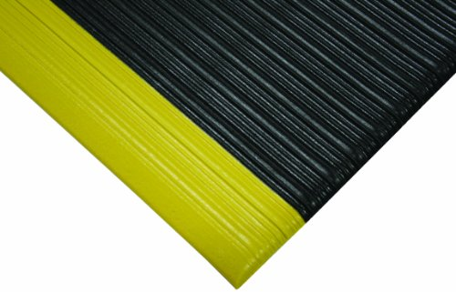 - Wearwell PVC 442 Deluxe Tuf Sponge Light Duty Anti-Fatigue Mat, for Dry Areas, 4' Width x 60' Length x 5/8