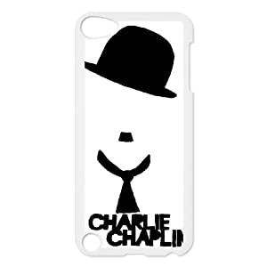 iPod Touch 5 Case White Charlie Chaplin tvb