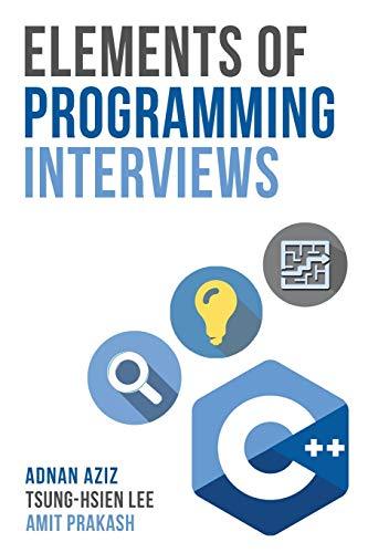 Pdf Computers Elements of Programming Interviews: The Insiders' Guide