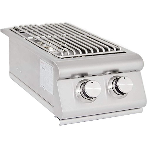 Blaze Built-In Double Burner (BLZ-SB2R-LP), Propane