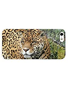 Hu Xiao 3d Full Wrap case cover dli81JnCc12 for iPhone 5/5s Animal