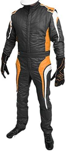 Black//White, XX-Large 20-TR2-NW-2XL K1 Race Gear Triumph 2 Single Layer SFI-1 Proban Cotton Fire Suit