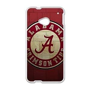Happy Alabama Grimson Tide Fashion Comstom Plastic case cover For HTC One M7