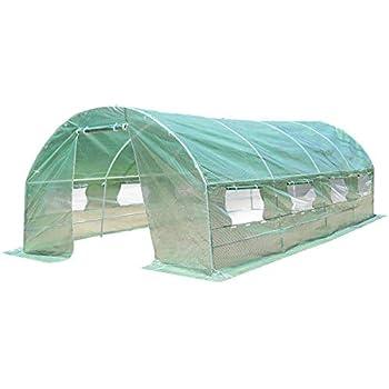 Amazon.com: Shelter Logic crecer it Heavy Duty Puerta ...