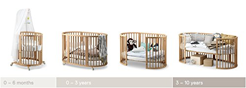 Stokke Sleepi Crib Conversion Kit in Natural (Crib not included) by Stokke (Image #2)