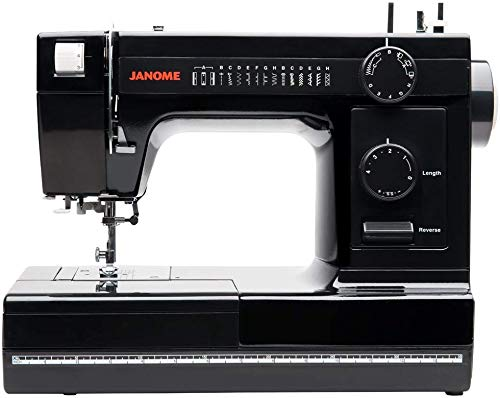 Janome Industrial-Grade Aluminum-Body HD1000 Black Edition Sewing Machine with 14