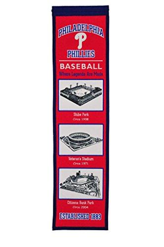 (Winning Streak MLB Philadelphia Phillie 46517Philadelphia Phillies Stadium Evolution Banner, Multicolor, One Size)