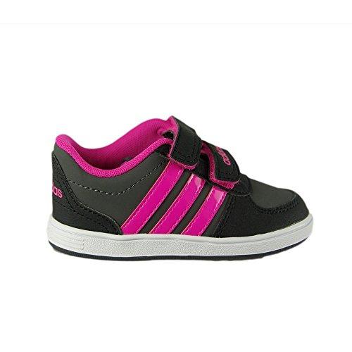 adidas VS HOOPS CMF INF - Zapatillas deportivaspara niños, Gris - (GRPUDG/ROSIMP/NEGBAS), 23