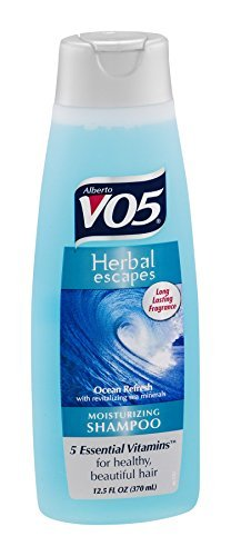 VO5 Herbal Escapes Shampoo, Ocean Refresh, 12.5 Ounce