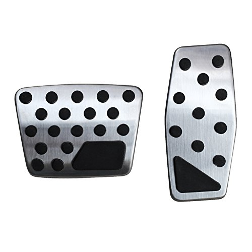 AutoBig Gas Brake Pedal Cover for Jeep Renegade New Compass Fiat 500X ()