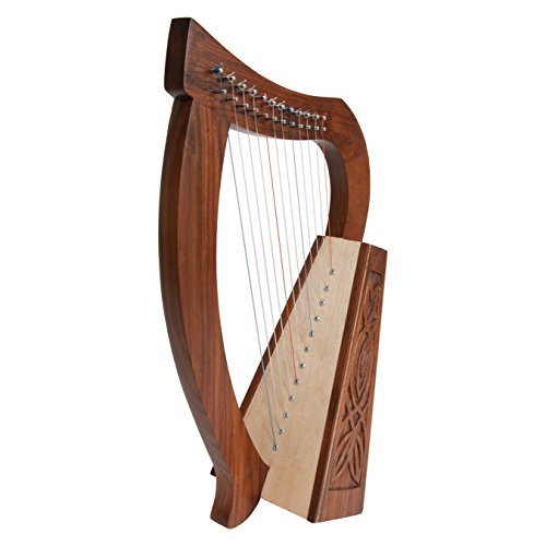 Mid East Roosebeck Baby Harp 12-String Knotwork by Mid-East