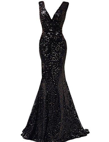 orange and black bridesmaid dresses - 4
