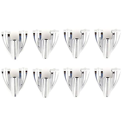 Ludwig Classic Bass Drum Claw Hooks 8 Pack Bundle - Ludwig Classic Drum