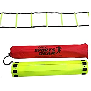 OSG 5 Rung Speed Agility Ladder Soccer Football Fitness Feet Training 2 Meter