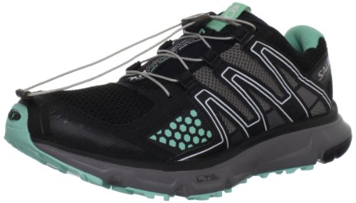 SALOMON XR Mission Zapatilla de Trail Running Señora Negro/Azul