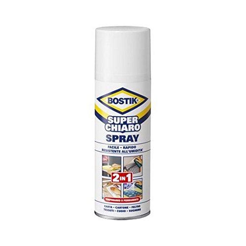 Bostik - Superchiaro Spray 2in1 Bostik - 500 ml - D2250 - codice D2250