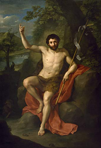 Anton Raphael Mengs St. John The Baptist Preaching in The Wilderness 1760-1770 Museum of Fine Arts Houston 30
