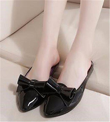 de con libre verano fondo aire Black plano GAOQIANGFENG de zapatillas al patin Señora HWBaqx6wOz