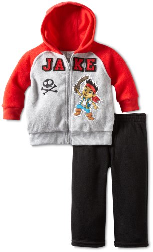 Disney Boys' 2 Piece Jake Arctic Fleece Pant Set