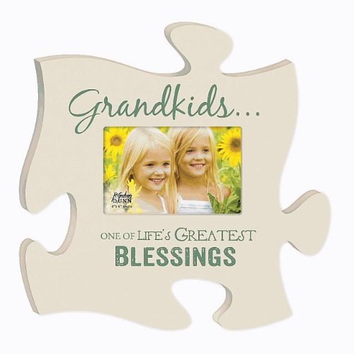 P. GRAHAM DUNN Grandkids One Of Life's Greatest Blessings Puzzle Photo Frame 12 X 12