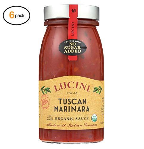 Lucini Italia Pasta Saucе - Tuscan Marinara - Casе оf 6-25.5 fl оz - Bulk Buy ()
