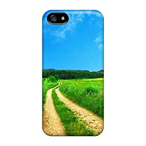 Premium [YkH6787zhVF]green Road Case For Iphone 5/5s- Eco-friendly Packaging