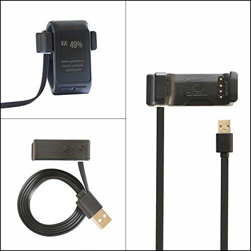 Magic Club Garmin Vivoactive HR - Cable de Carga para Garmin Vivoactive HR, reemplaza la Base de Carga del Cargador para...