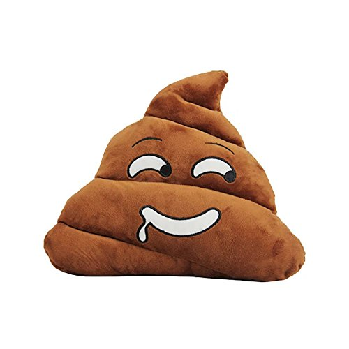 "13.8"" Cute Poo Shape Pillow Emoji Emoticon Cushion Stuffed Doll Plush Toy Children Adult Doll,Great Birthday Gift Xmas Gift Baby Nursery Home Decoration Set"