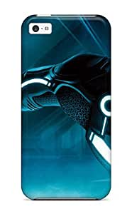 Snap-on Tron Legacy 2010 Multi Monitor Case Cover Skin Compatible With Iphone 5c