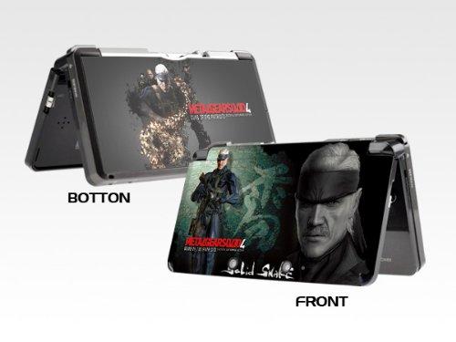 Metal Gear Solid Nintendo 3DS skins decorative decals sticker