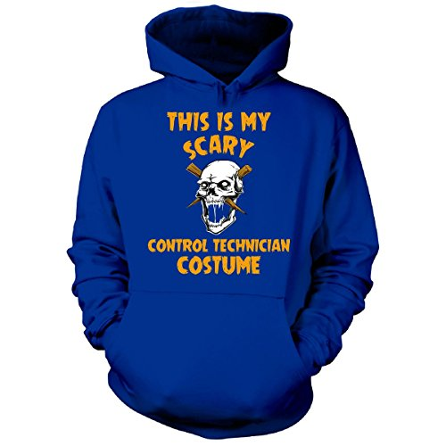 This Is My Scary Control Technician Costume Halloween Gift - Hoodie Royal XL -