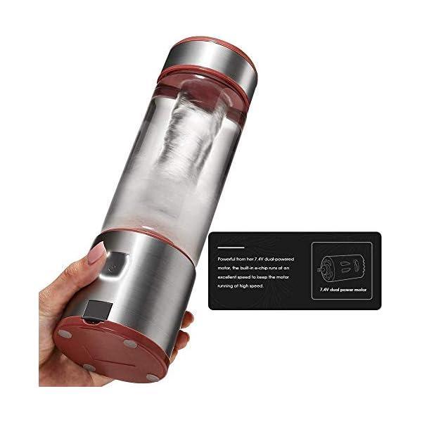XYUN Juicer della frutta, Wide Mouth centrifuga Juicer Estrattore con Dual Speed Control for Frutta e verdura Juice… 7 spesavip