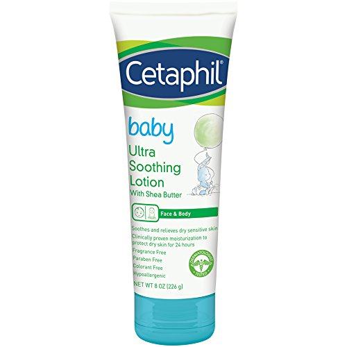 Cetaphil Baby Ultra Soothing Lotion with Shea Butter 8 oz Galderma 302993936183