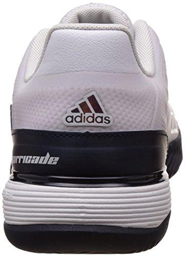 adidas Barricade 2016 Xj, Zapatillas de Tenis para Niños Blanco (Ftwbla / Maruni / Kugofo)