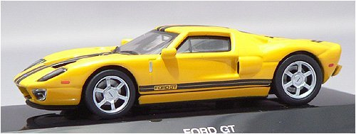 AUTOart 1:64 (approx 3 inches) Die Cast Ford GT Yellow 20352