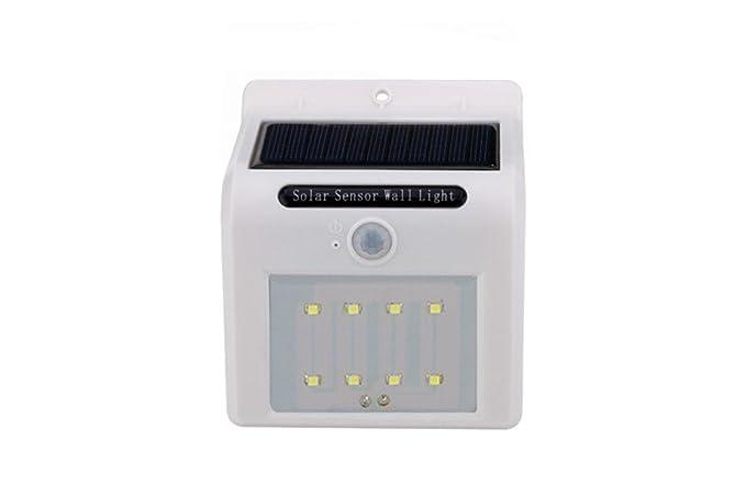 8 led solar outdoor lights super bright motion sensor ampio angolo
