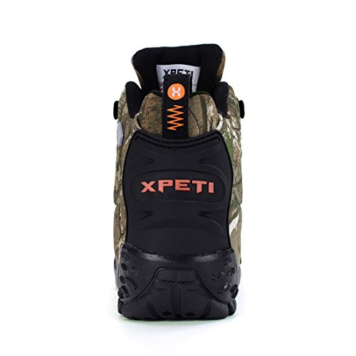 Xpeti M Mujer Camouflage Para Montaña De Thermator Botas Impermeables BrqBZf