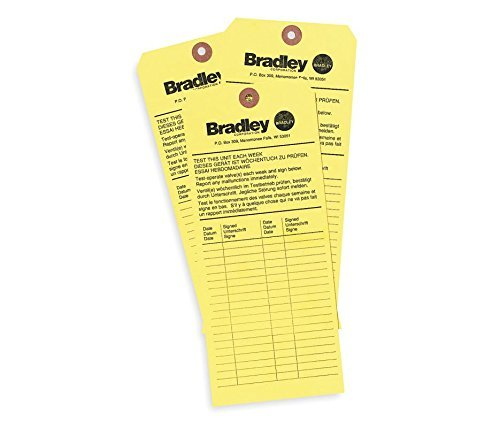 Bradley 204-421 Inspection Tag