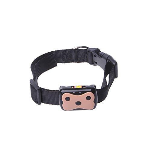 SupremeLife Pet Mini GPS Tracker, Waterproof, Dustproof, Shockproof, GPS+LBS Dual Mode Position, Pet Dog Cat Kids Collar ID Locator Tracking Loss Prevention