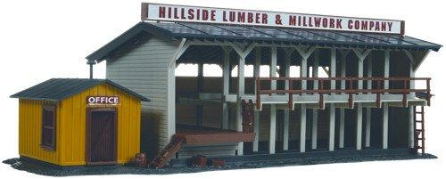 HO KIT Lumber Yard & Office