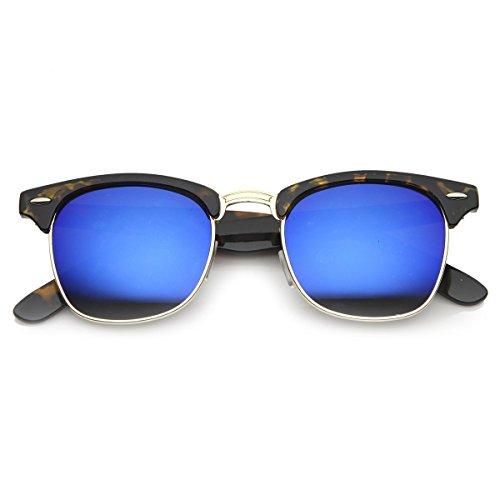 unisex Gafas de Habana DANDY CULTO sol La hombre Reflejado mujer Azul de HIPSTER de KISS® mod vintage qPUpxrwqBT
