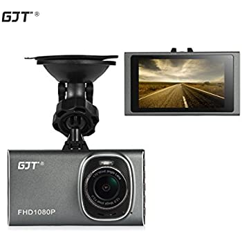 GJT GT900 Vehicle Camera Dash Cam full HD 1080P with 3.0 inch Screen (Gray)