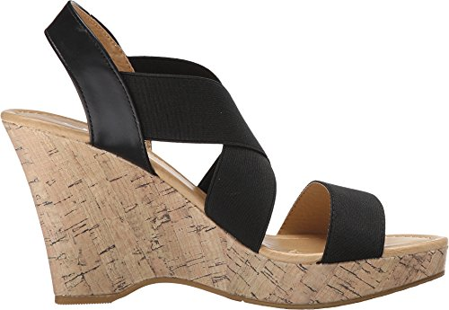 Cl By Chinese Laundry Mujeres Ivorine Wedge Pump Sandal Black