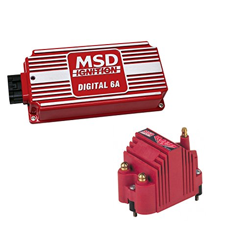 Price comparison product image MSD 6201-K1 Ignition Kit Digital 6A Box Blaster SS High Voltage Coil