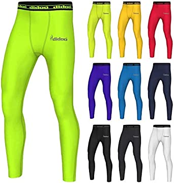 Mens Compression Pants tights Sportswear Under layer Exercise Cycling Trousers