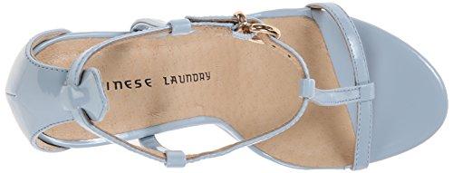 Chinese Laundry Kvinnor Leo Klänning Sandal Kaschmir Blå Patentet